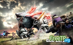 GOD EATER 2 Rage Burst играть по сети и интернету Онлайн